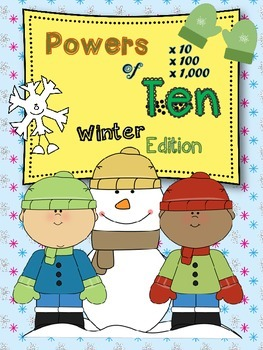 Powers of 10 (Winter Edition)