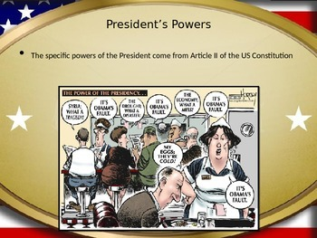 Powers of the President FULL Lesson Plan