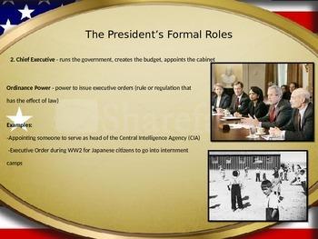 Powers of the President FULL Lesson Plan
