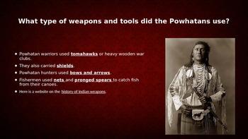 Powhatan Indian PowerPoint