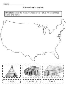 Powhatan Lakota Pueblo Quiz