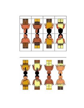 Powhatan Native American Figures