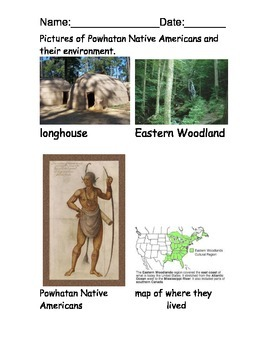 Powhatan Native American Reading Comprehension