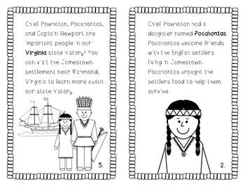 Powhatan, Pocahontas and Christopher Newport Student Book