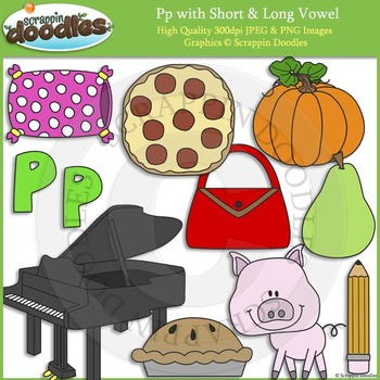 P Short and Long Vowel