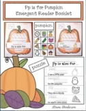"""Pp is for Pumpkin"" an Emergent Reader & Game"