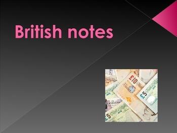 Ppt presentation on British notes
