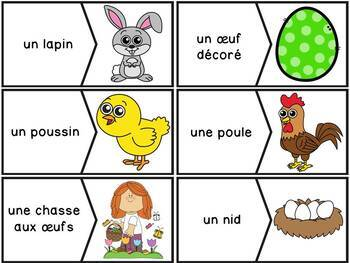 Pâques - 30 puzzles - French Easter