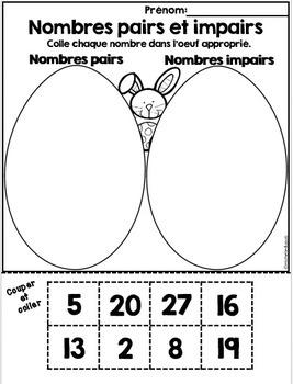 Pâques - Math et Littératie (20 activités)    French Easter