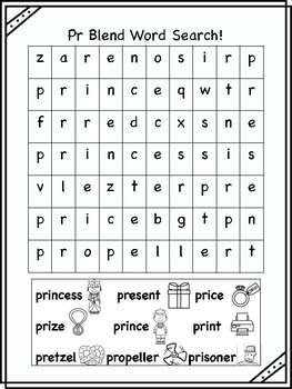 Pr Blend Word Searches!