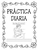 Práctica Diaria (Morning Work in Spanish)