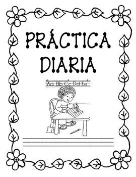 Práctica Diaria (Morning Work in Spanish)