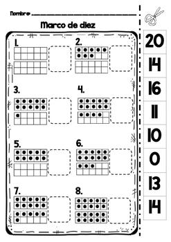 Practica Marco de diez (ten frame) Espanol/Spanish