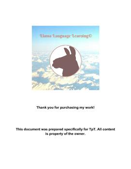 Práctica con el subjuntivo II -Practice with the Present Subjunctive II -Spanish