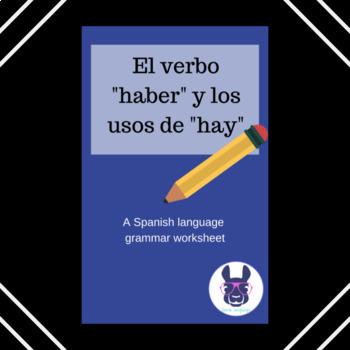 """Práctica con el verbo """"haber"""" - Practice with """"haber"""" (hay) - Spanish"""
