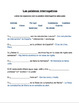 Práctica con las palabras interrogativas - Interrogatives Practice - Spanish