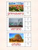 Práctica con las sílabas en español- Tema: El tiempo y las