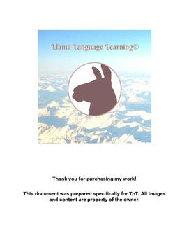 Práctica con pronombres - Practice with Pronouns - Spanish