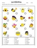Practica de Adjectivos (with answer key)
