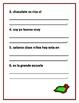 Practica de Gramatica para Primer Grado