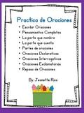 Practica de Oraciones