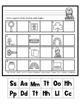 Practica de fonética para todo el año- Edición de San Patricio