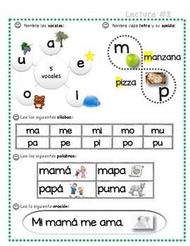 Práctica de lectura en español