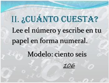 Práctica de los Números 0-10.000