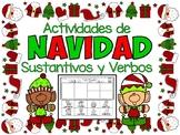 Práctica de los Sustantivos:Actividades de Navidad