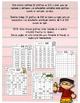 Práctica de números en una gráfica de 100