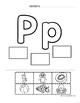 Practica de la letra inicial (Corta y Pega) Beginning Soun