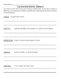 Practica diaria de oraciones y gramatica