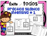 Práctica silábica intensiva 1 - éxito para todos