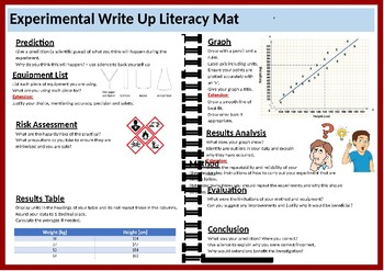 Practical/Experimental Write Up Literacy Mat
