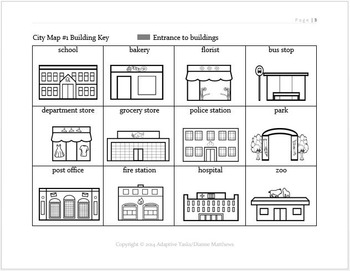 LIFE SKILLS - Map Skills Bundle