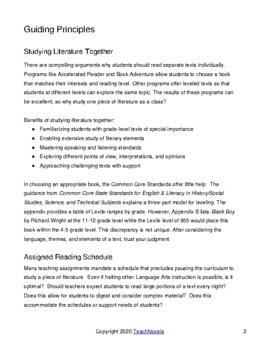 How TeachNovels Guides Work