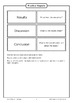 Practical Reports [Flashcards]