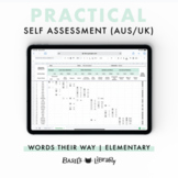Practical Self Assessment - Elementary Inventory | Words Their Way (AUS & UK)