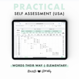 Practical Self Assessment - Elementary Inventory | Words Their Way (USA)