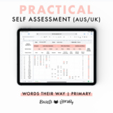 Practical Self Assessment - Primary Inventory  | Words Their Way (AUS & UK)