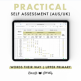 Practical Self Assessment - Upper Level Inventory | Words Their Way (AUS & UK)