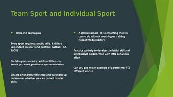 Practical Sport - Lesson 2