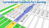 Practical Spreadsheet Examples for Learning