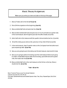 Practical Theory Assignment #3