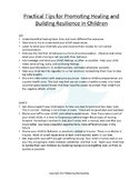 Practical Tips for Building Resilience in Children