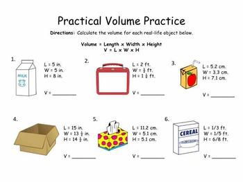 Practical Volume Practice