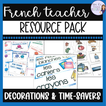 French teacher resource pack