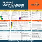 Practically 1st Grade Reading Comprehension Passages & Que