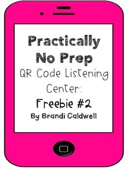 Practically No Prep QR Code Listening Center: Freebie #2