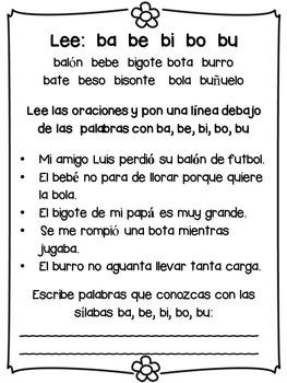 Practicando la lectura: vocales, abecedario, silabas, lecturitas.